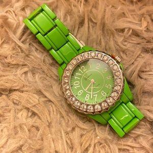 NWT Geneva Platinum Watch